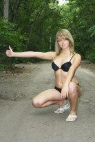 Blonde, Girls Solo, Outdoor and Teen 2257 Adult Photo Set SPN P012