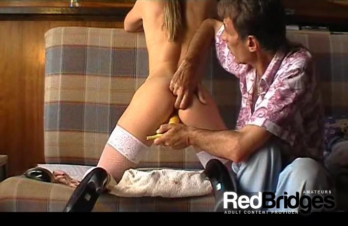 Banana, Couple, Hardcore, Heels, Kitchen, Pussy licking and Stockings 2257 Adult DV Video Set Mila V004