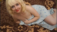 Blonde, Fat, Girls Solo and Sofa 2257 Adult Photo Set STR P004